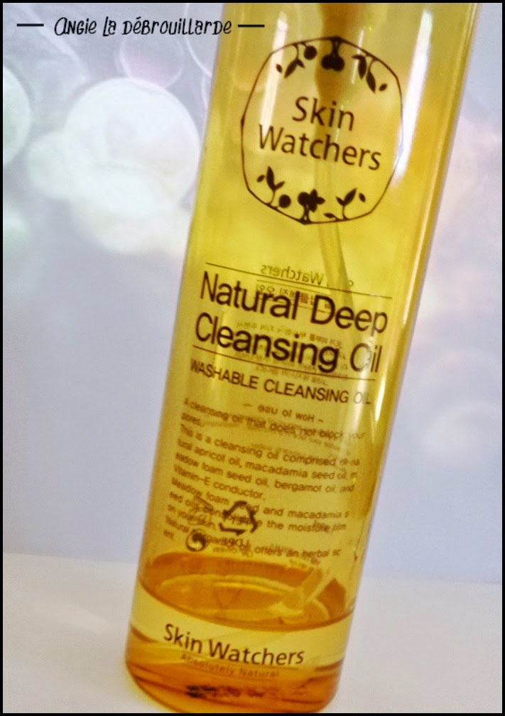 revue Huile démaquillante Skin Watchers Natural Deep Cleansing Oil