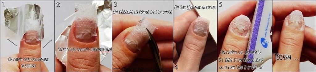DIY réparation ongle