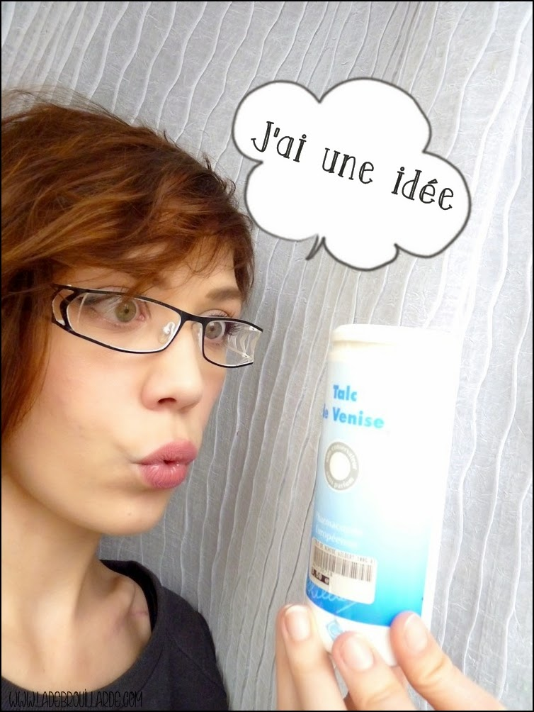 Le talc le shampoing sec idéal