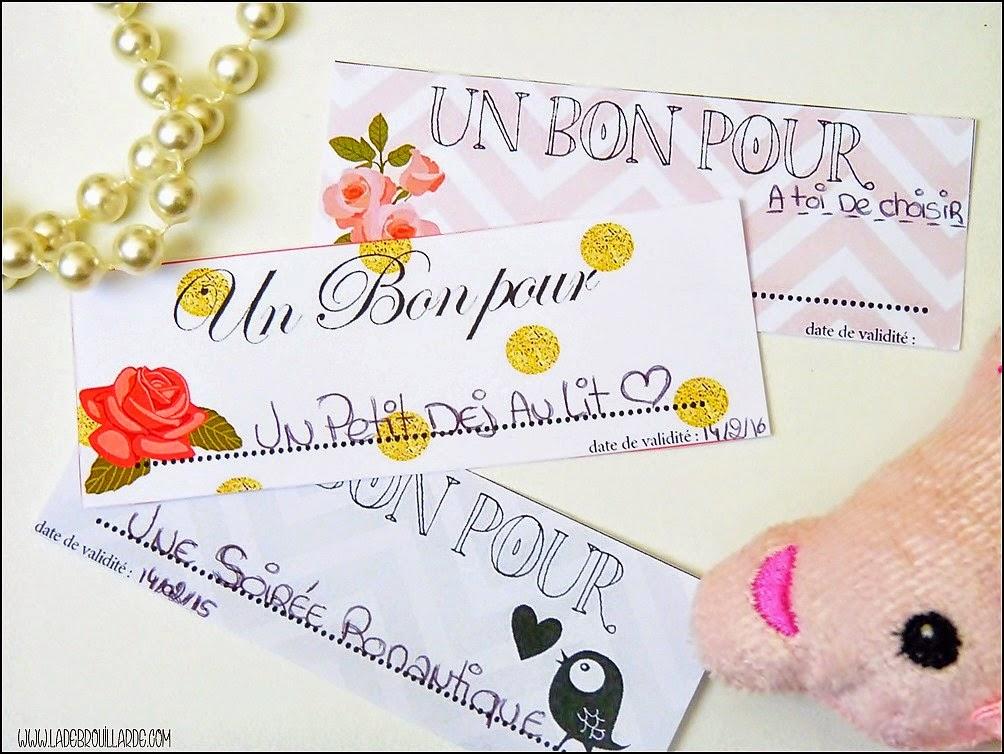 DIY St Valentin - Bon Pour - Exemple