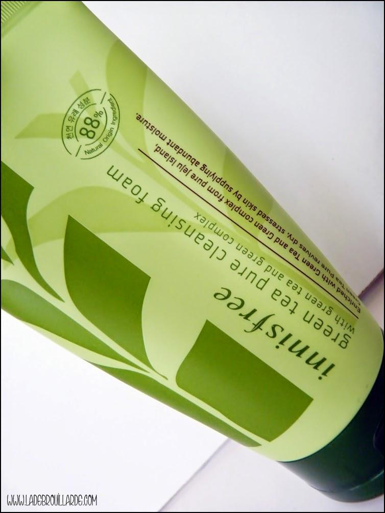 Green Tea Pure Cleansing Foam
