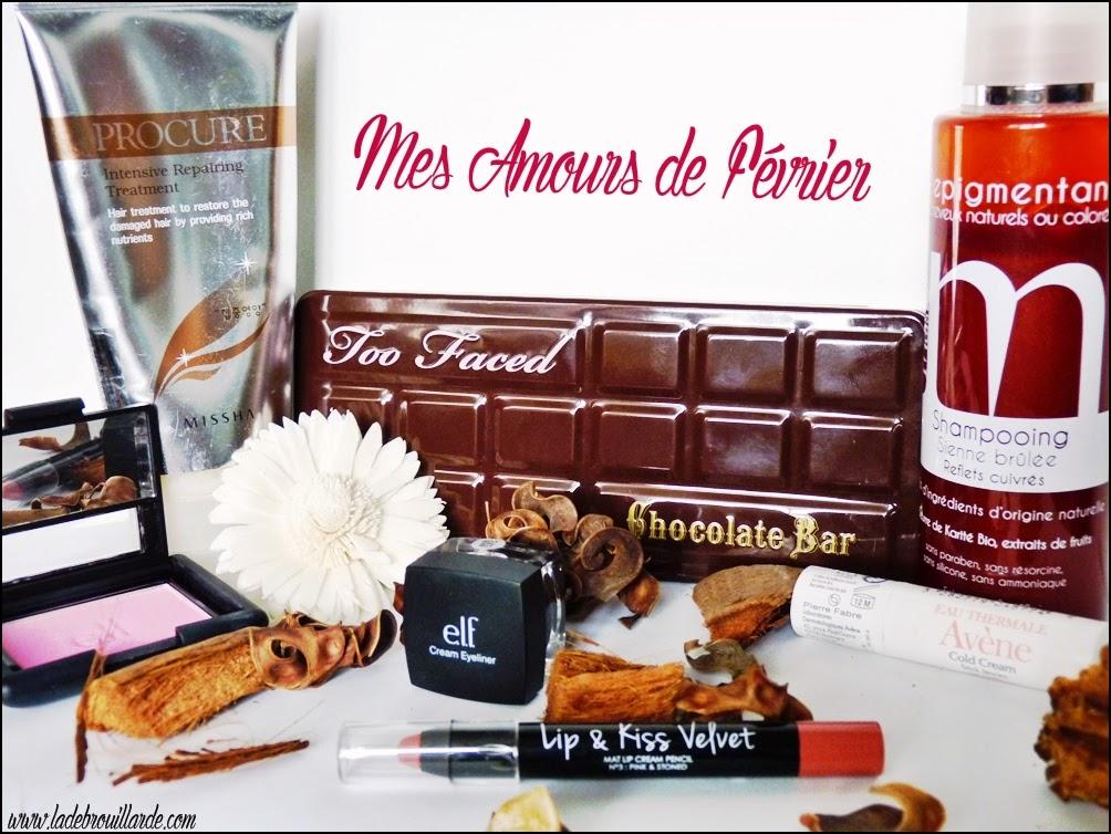 Favoris Février Makeup & Soin capillaire