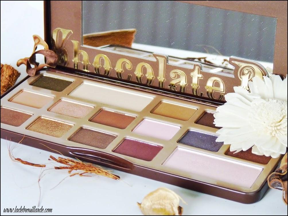 Favoris Février Makeup Chocolate Bare Too Faced