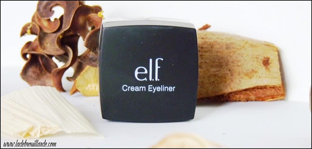 Favoris Février Makeup Eye Liner Gel ELF