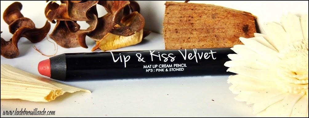 Favoris Février Makeup Lip&kiss Velvet n°3 Adopt' Réserve Naturelle
