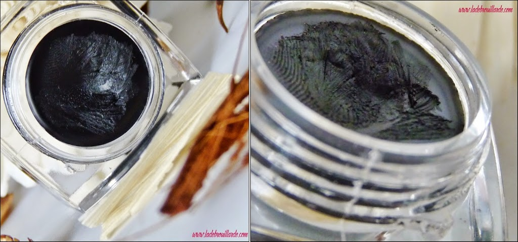 revue eye liner crème elf - black - texture