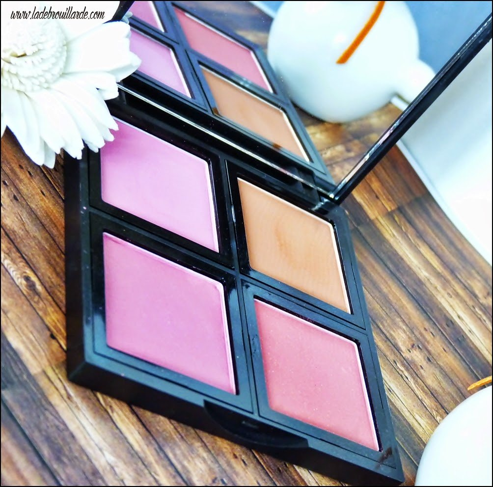 Revue Makeup Palette Blush ELF - packaging