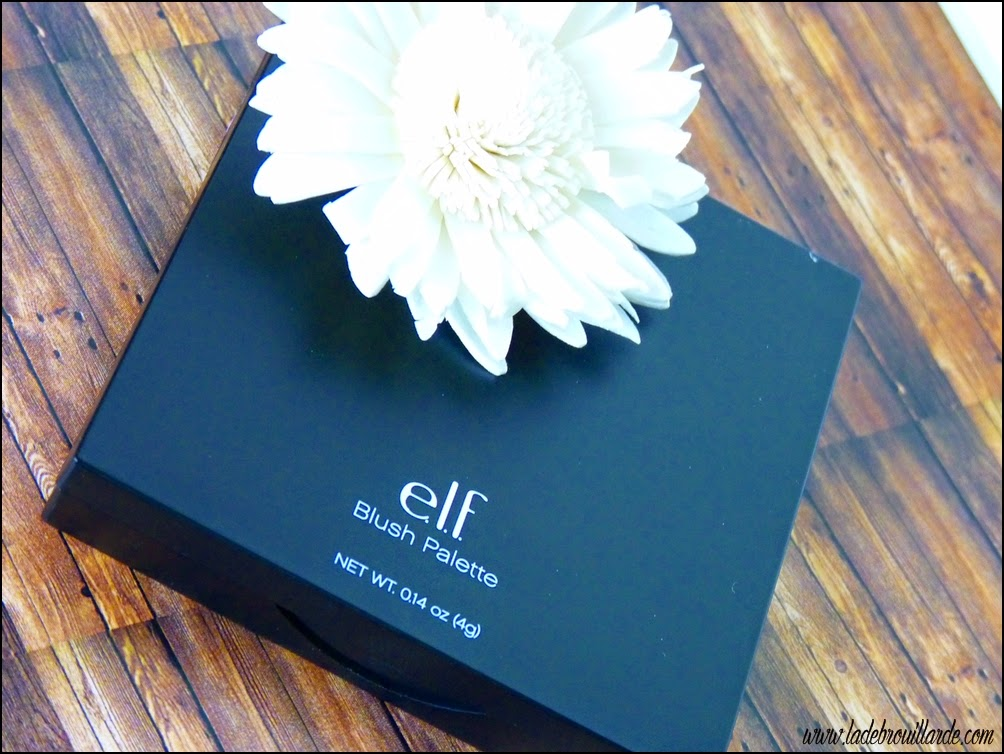 Revue Makeup Palette Blush ELF Packaging