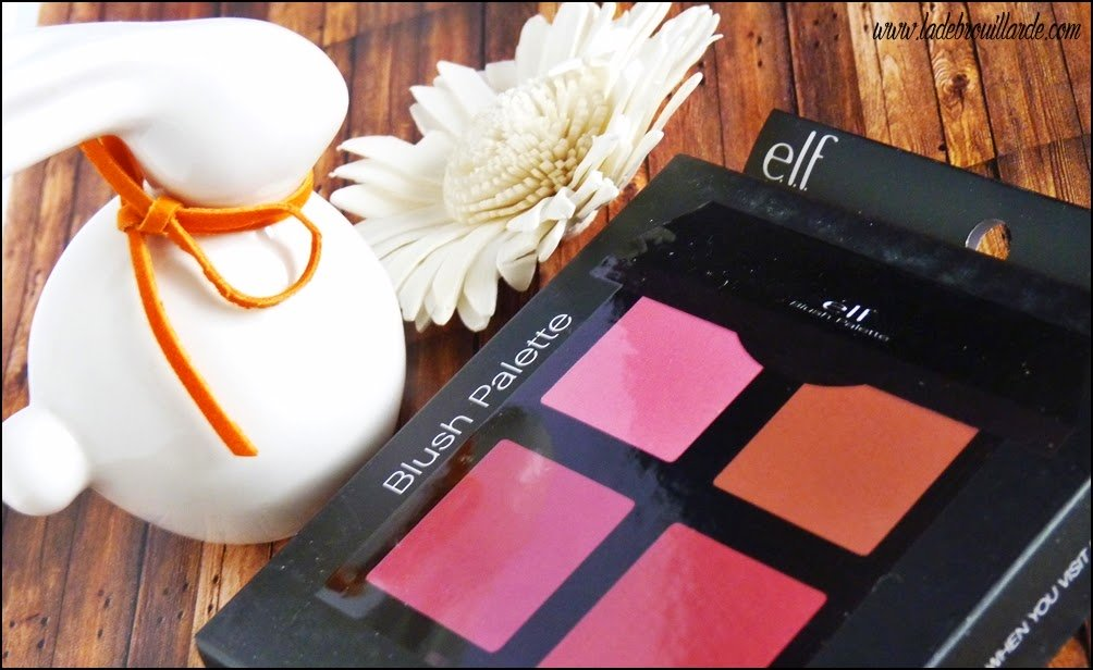 Revue Makeup Palette Blush ELF