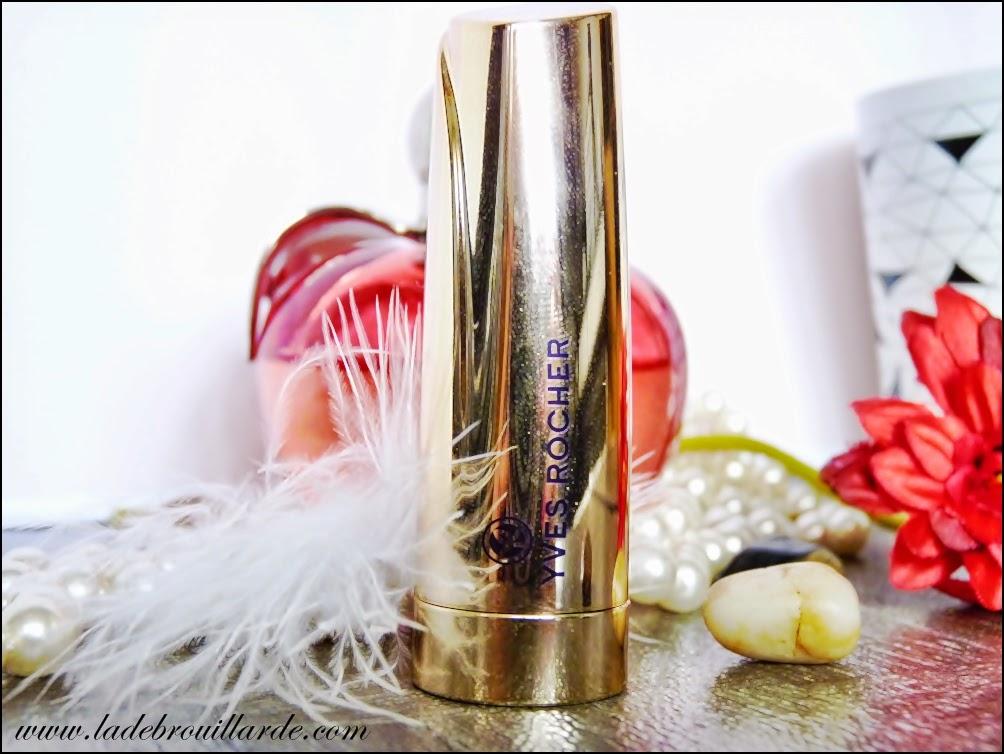 Revue maquillage Le Grand Rouge d'Yves Rocher rouge à lèvre