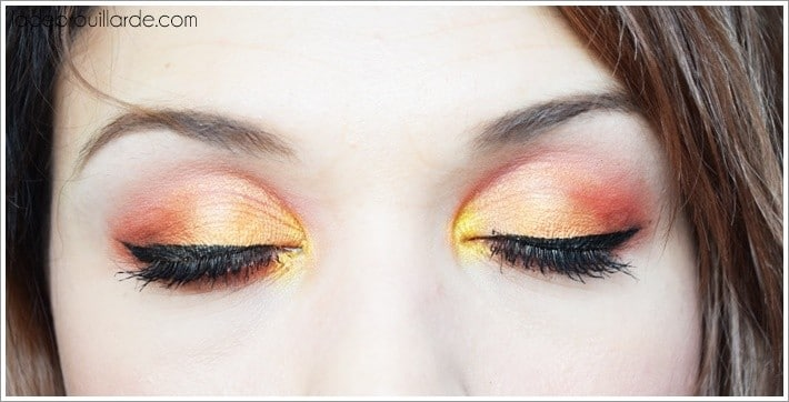 Make up sunset