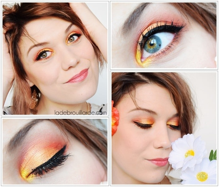 Maquillage sunset