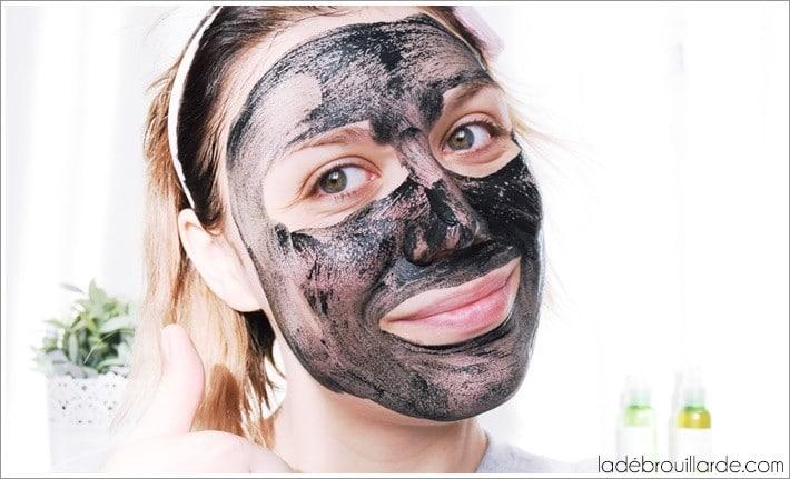 Le masque d tox pour une peau qui respire la d brouillarde - Masque maison anti bouton ...