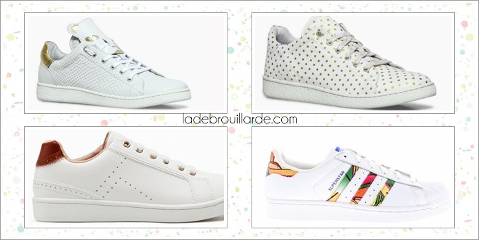 Sneaker printemps blanche