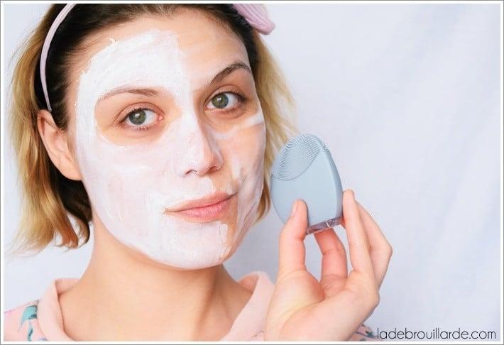 routine soin visage peau mixte grasse