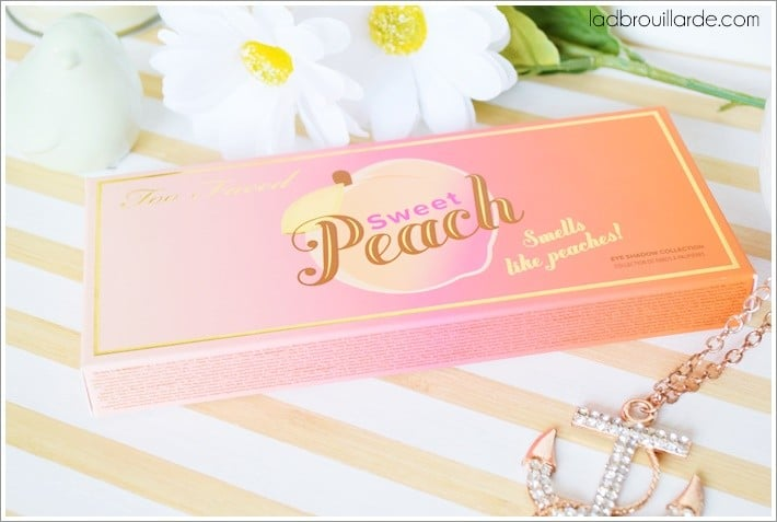 palette sweet peach too faced avis