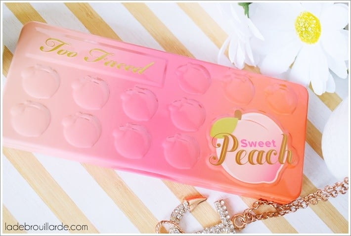 Too Faced sweet peach edition limité été Sephora