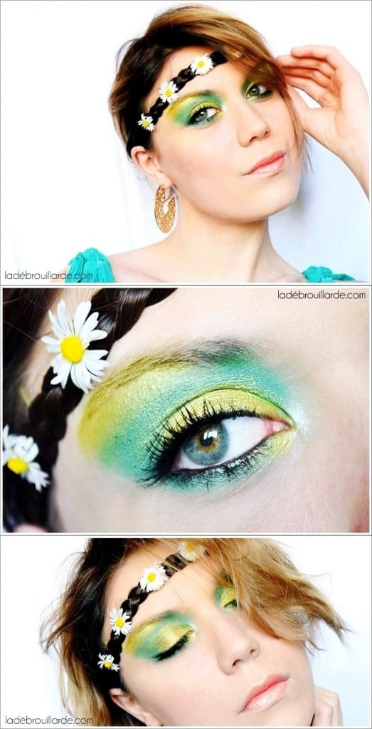 Make up emerald