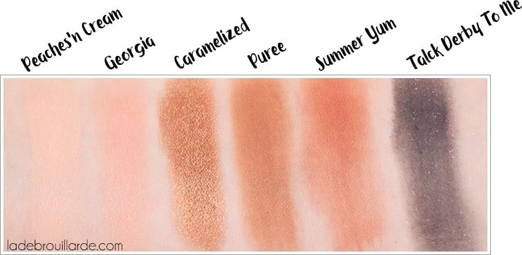 Swatch sweet peach too faced 3