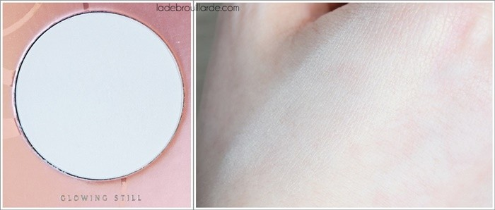 glowing still swatch rose golden zoeva