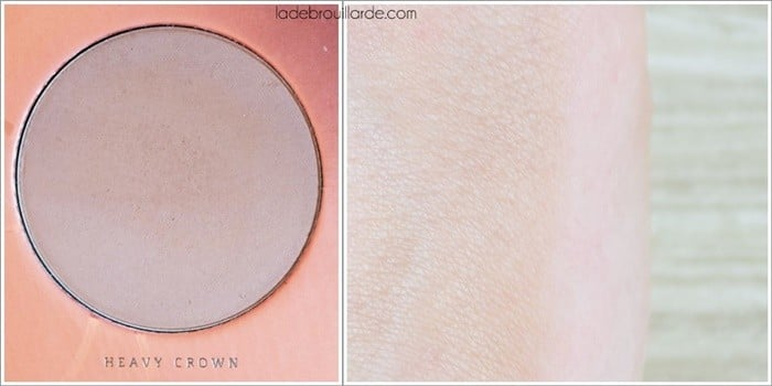 heavy crown swatch rose golden zoeva