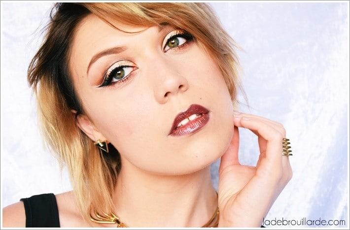 maquillage soirée sophistiqué