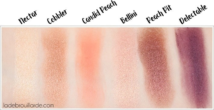 Swatch sweet peach too faced 2