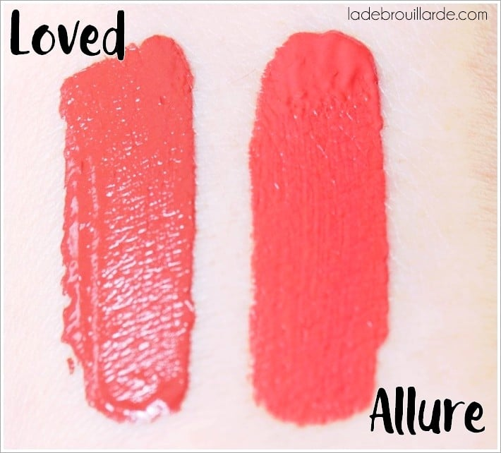 swatch amor matte milani loved allure