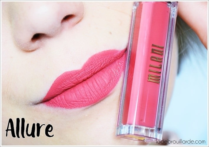swatch allure amor matte milani