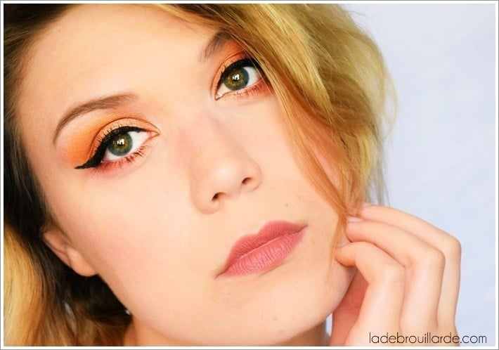 make up nude smoky eye
