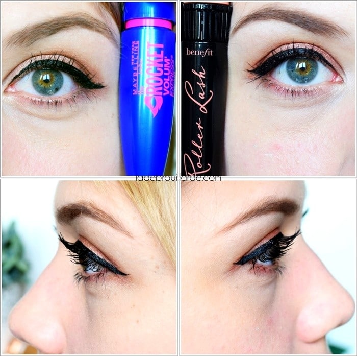 Dupe Roller Lash Benefit Rocket volume maybelline