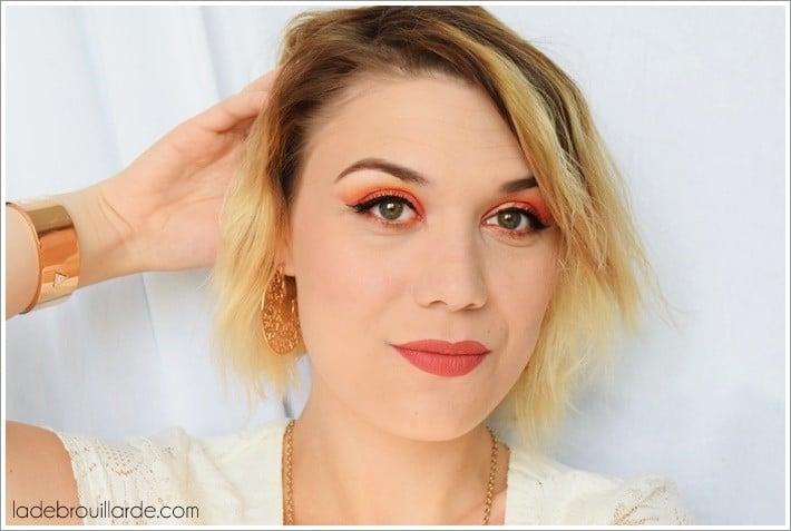 maquillage été 2016 corail