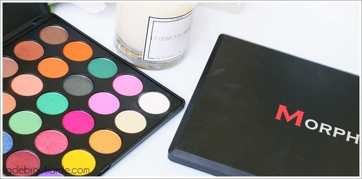 palette maquillage pas cher morphe