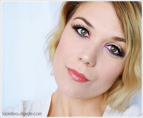maquillage de soirée gris tutoriel