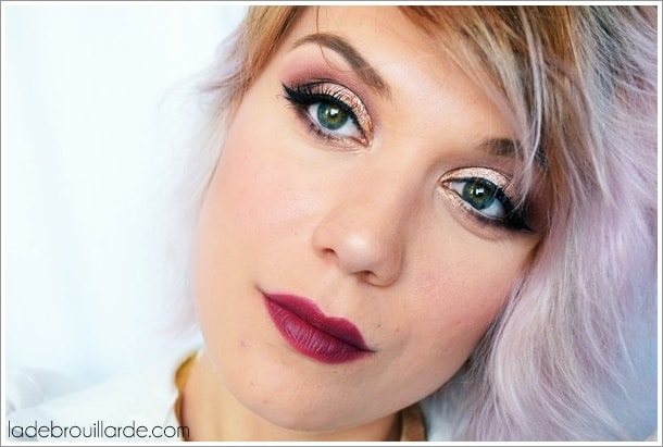 smoky automne sweet peach too faced