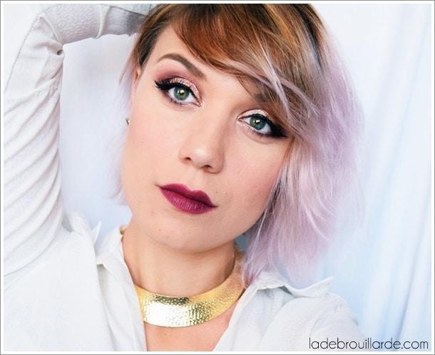 Maquillage de soirée fête facile à faire smoky eye