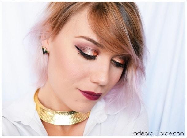 tuto make up smoky eye maquillage de soirée