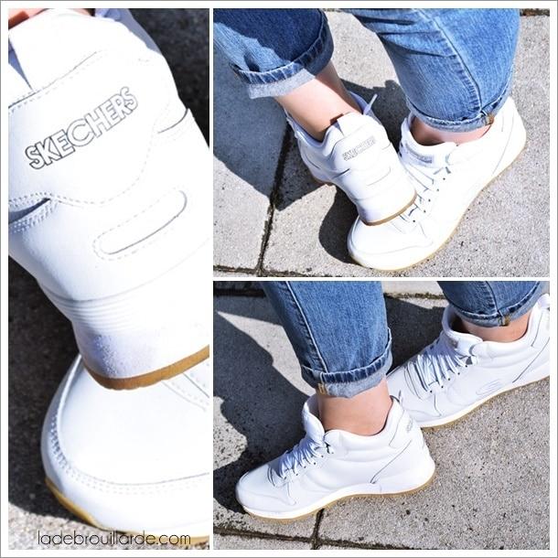 basket blanche sneaker basic sneckers