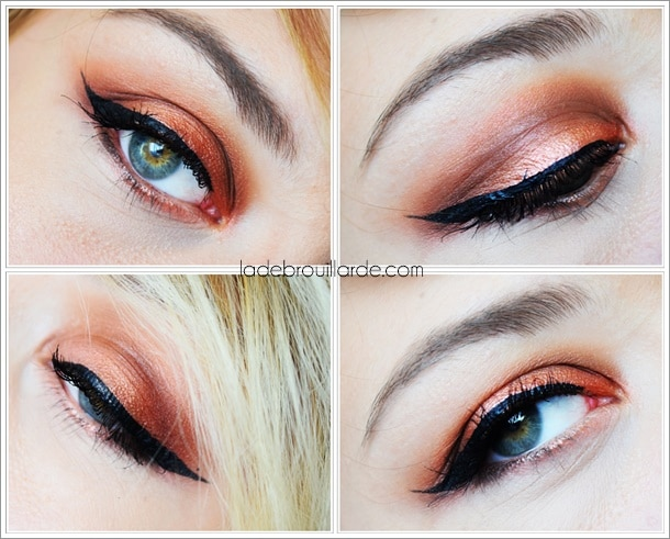 make-up-brick-smoky yeux vert