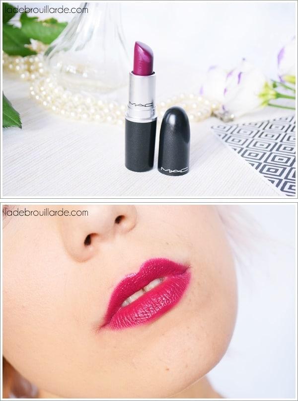 diva mac swatch rouge à lèvres automne hiver