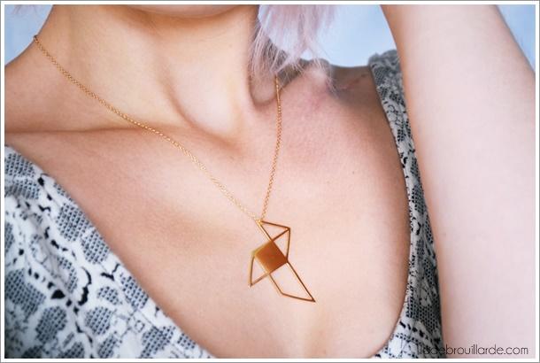 Collier Origami Natsumi