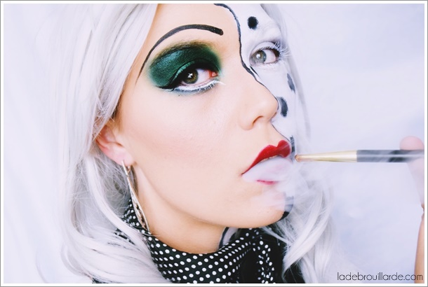 Cruella d'enfer disney tutoriel maquillage