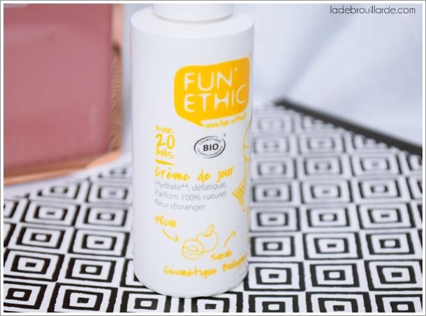 crème bio supermarché fun ethic avoir 20 ans avis