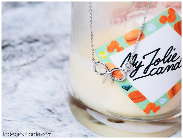 my jolie candle bijou collier avis revue