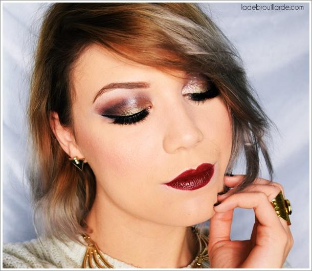 palette maquillage fard mat