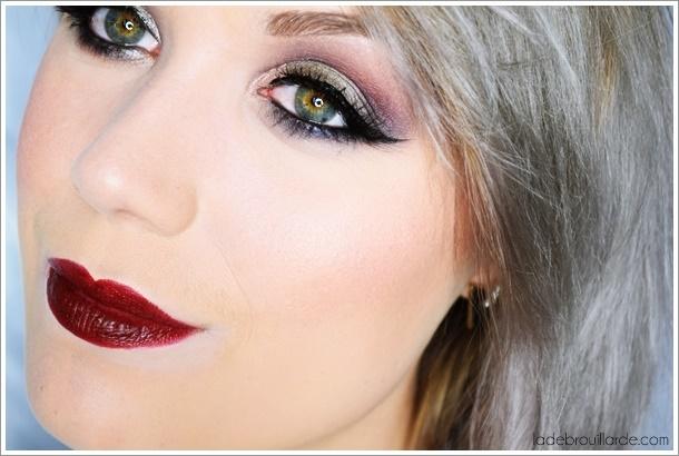 smoky eye tutoriel maquillage gris