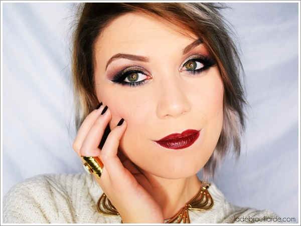 maquillage yeux vert bleu marron