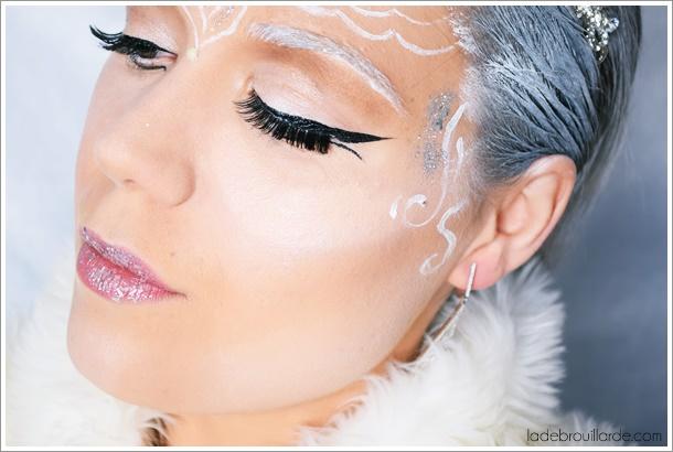 maquillage artistique noel