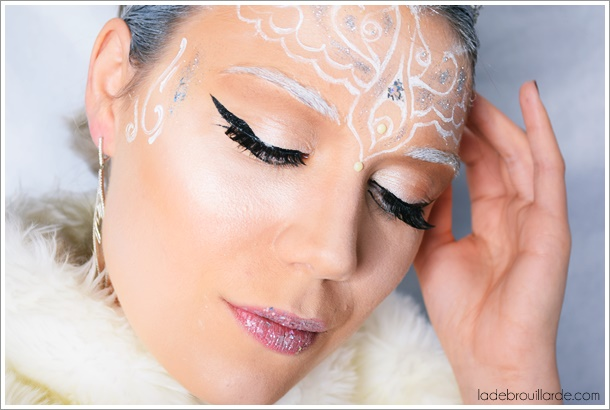 maquillage artistique christmas