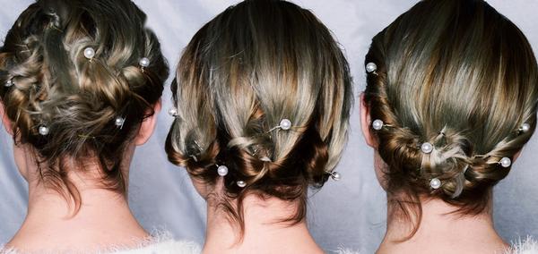 Diy 3 Coiffures Faciles A Faire Pour Cheveux Courts Special Soiree